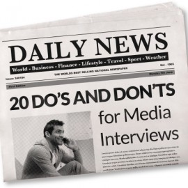 What to do after the media interviews you