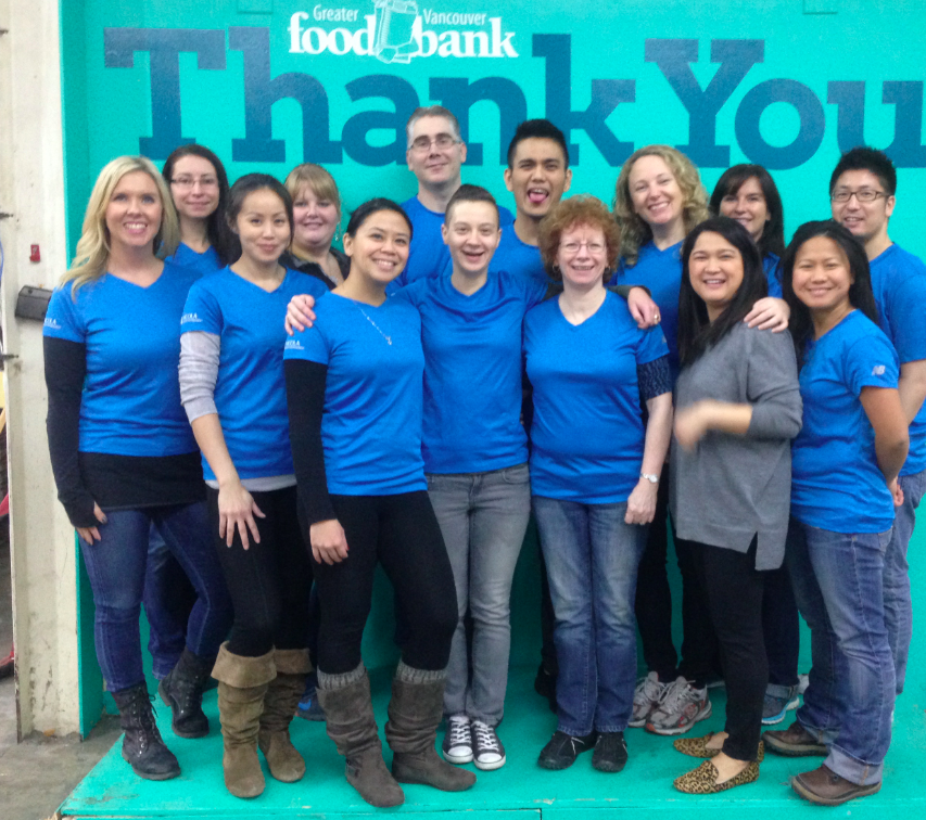 Nicola Wealth Management donates time and money to Food Bank